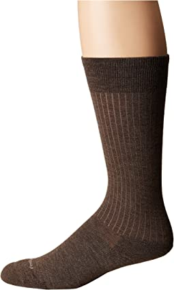 Feetures - Classic Rib Cushion Crew Sock