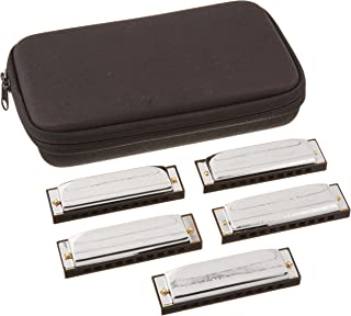Hohner Case of Special 20s Harmonica 5-Pack- Keys of G, A, C, D, E (SPC)