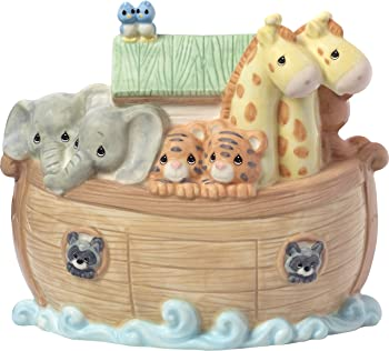 Precious Moments Overflowing with Love Noah's Ark Baby Bank