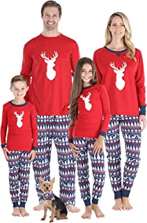 Matching Family Christmas Pajama Sets, Red