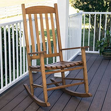 Mainstays` Outdoor Rocking Chair, Brown (Brown)
