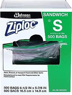 Ziploc Sandwich Bag 500 Ct