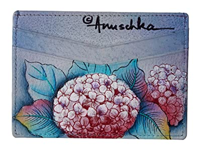 Anuschka Handbags Credit Card Case 1032 (Hypnotic Hydrangeas) Handbags