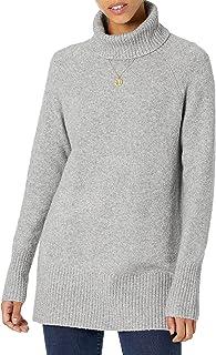 Goodthreads Boucle - Jersey de Cuello Alto Suéter para Mujer