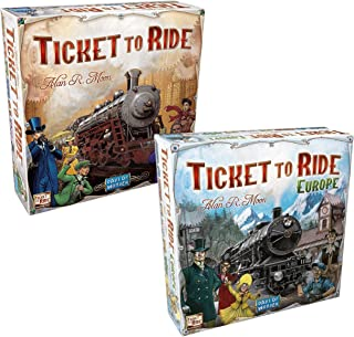 Ticket to Ride with Ticket to Ride Bundle