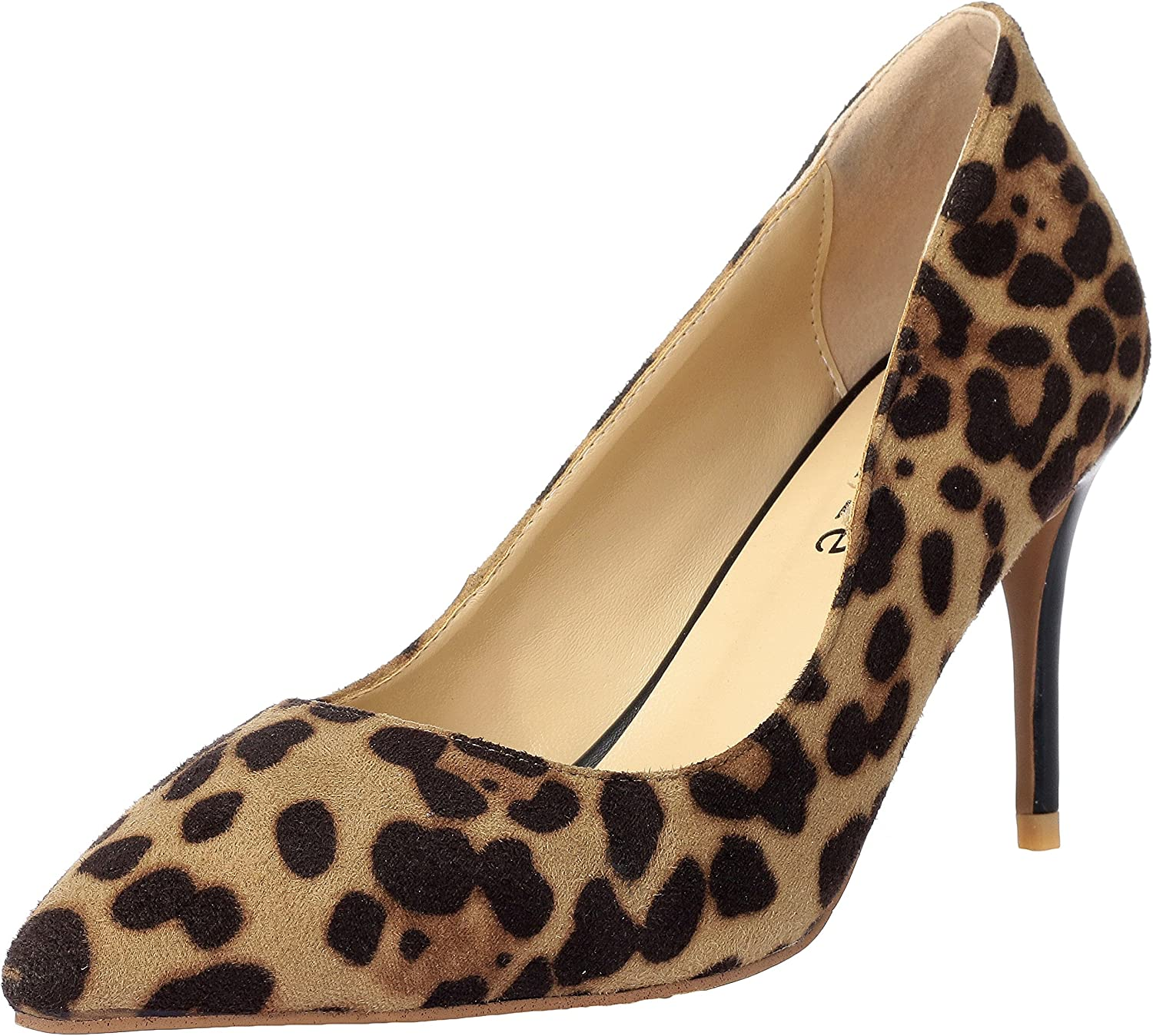 MAYPIE Women's Sexy Pointed Toe High Heel Stiletto Dress Pumps shoes 3 Inch Heel