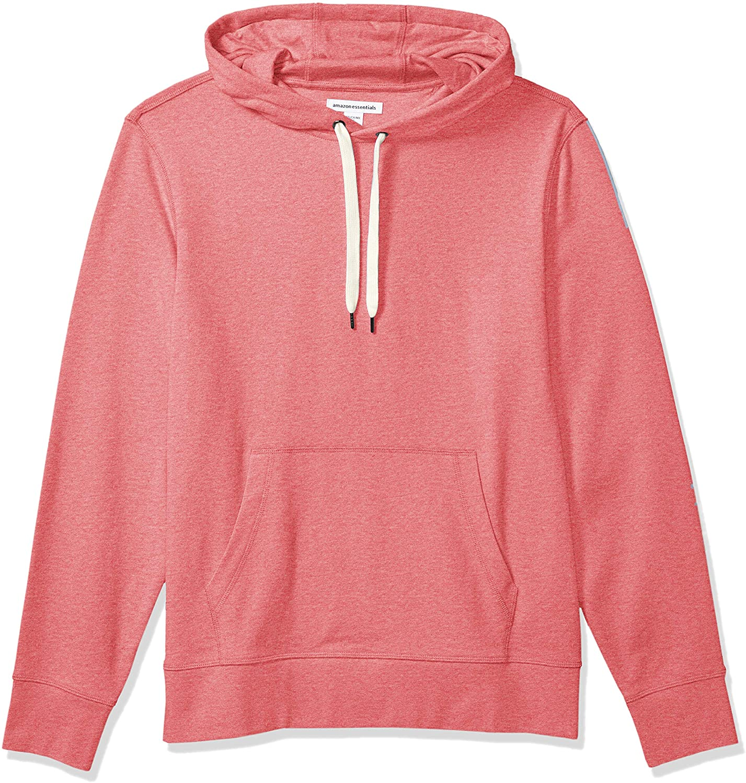 Amazon Essentials Men's Lightweight French Terry Hooded Sweatshirt