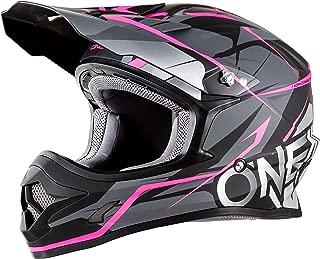 O'Neal Unisex-Adult Off-Road Style 3 SRS Freerider Helmet BLK/PINK L (Black, Large)