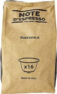 Note D'Espresso Guatemala, Capsule per caffè, compatibili con macchine Dolce Gusto, 7 g x 48