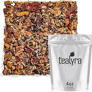 Tealyra - Raspberry Lemonade - Hibiscus - Chamomile - Lemon - Strawberry Leaves - Herbal Fruity Loose Leaf Tea - Vitamins Rich - Boost Immune - 100% Natural - Caffeine-Free - 112g (4-ounce)
