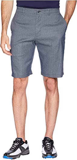 Printed Heather Houndstooth Shorts