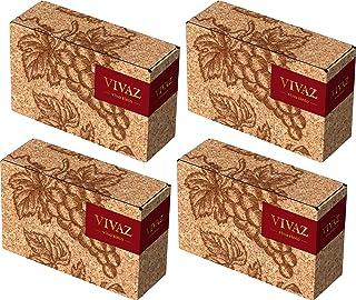[Amazon限定ブランド] スペインのフルーティな上質赤ワイン バッグインボックス VIVAZ (ビバズ) [ 赤ワイン ミディアムフルボディ スペイン 3000ml × 4本 ]
