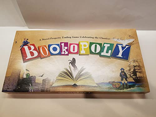 Bookopoly Board Game by Late for the Sky