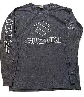 Hobbynica Suzuki Motorcycles Racing Bikes Long Sleeve T Shirt Suzuki Motocross Suzuki GSX-R