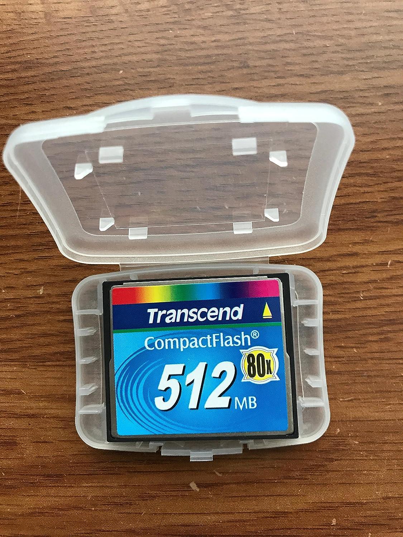 Transcend 512 MB 80x CF Flash Memory Card 512 MB 80x CF Type I Compact Flash TS512MCF80