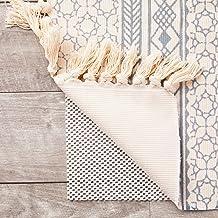 Nonslip Area Rug Gripper Pad for Hardwood Floors (White, 5 x 7 Feet)