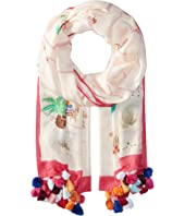 Kate Spade New York - Desert Oblong Scarf