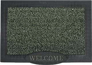 GrassWorx Clean Machine Big Welcome Doormat, 24