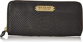 Isle Locada by Hidesign Women's Wallet (Black)