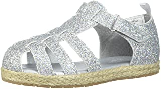 OshKosh B'Gosh Helga Girl's Glitter Fisherman Sandal