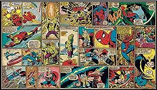 RoomMates Marvel Classics Comic Panel Mural 10.5 feet X 6 feet
