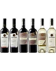 世界トップレベルのワイナリーが造るぶどうの旨みたっぷり チリの赤ワイン&白ワイン飲み比べ6本セット(赤750mlx4本、白750mlx2本)[チリ/Amazon.co.jp限定/winery direct]