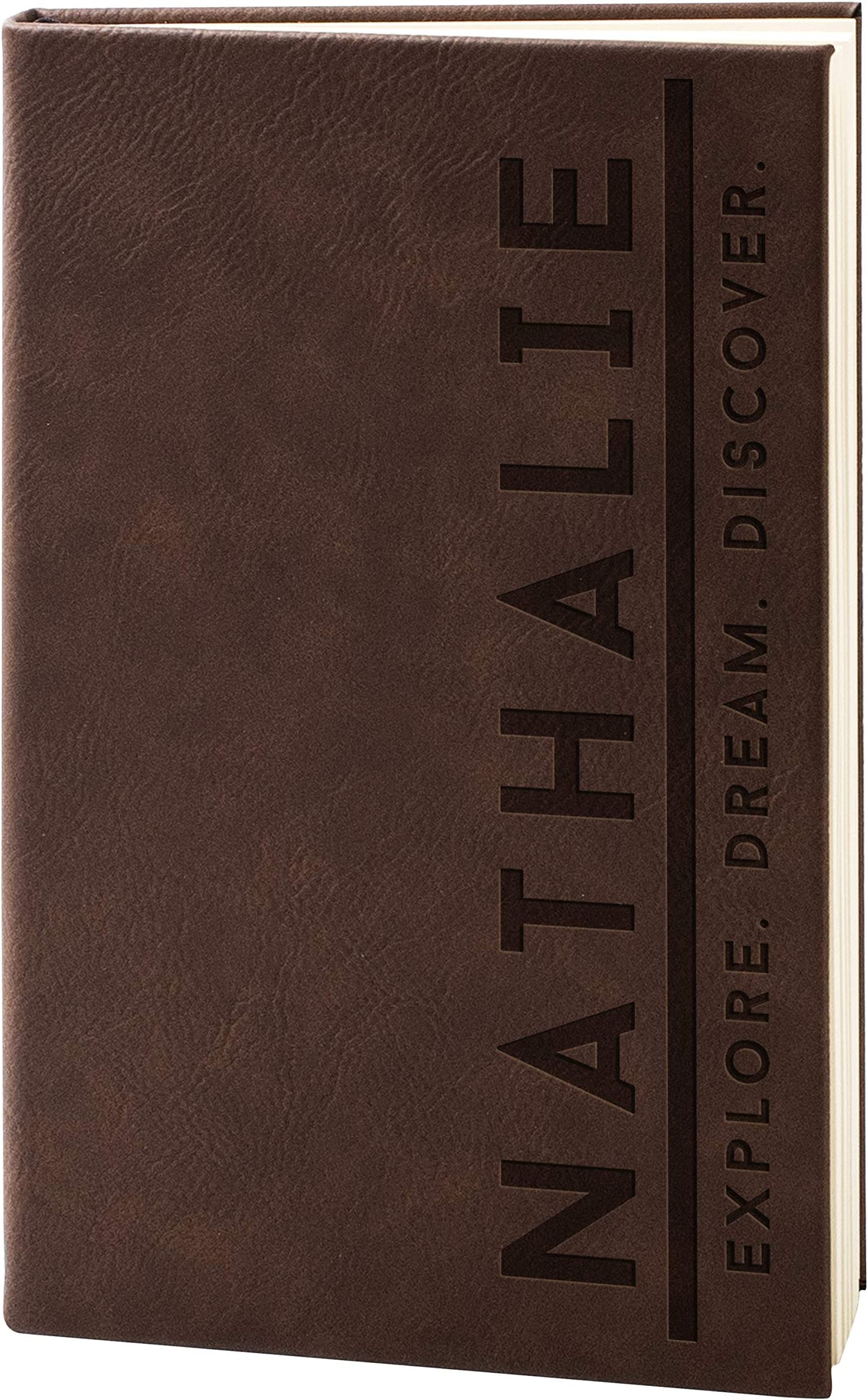 Vitruvian man  journal dream journal personalized diary writing journal moleskine notebook gift for travel writing notebook