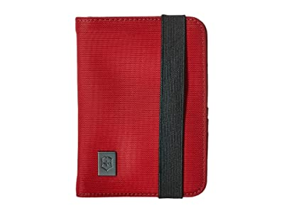 Victorinox Passport Holder with RFID Protection (Red/Black Logo) Wallet