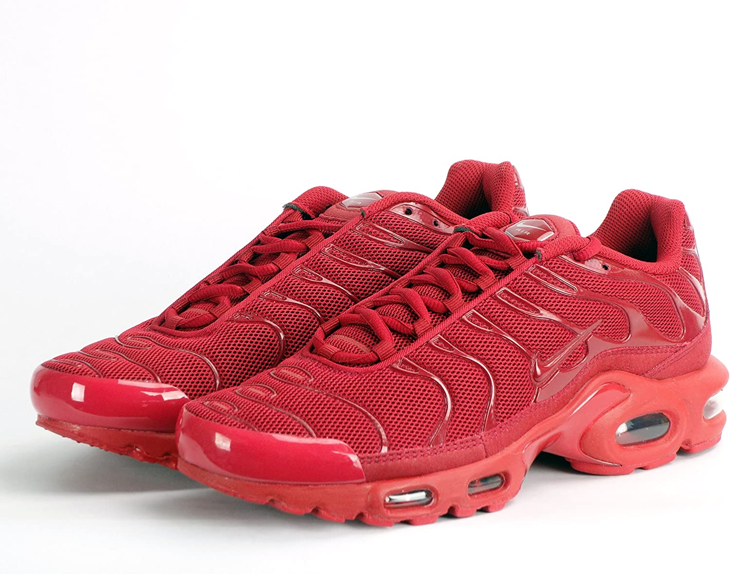 Nike Air Max Plus TXT TN Homme Baskets - Gym Rouge/Rouge, Homme ...