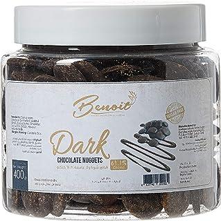 Benoit Dark Chocolate Nuggets Sugar Free 61.1%, 400 gm