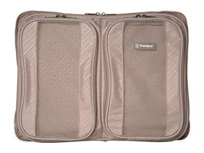 Travelpro 16 Crew Versapack Packing Cubes Organizer Global Size (Khaki) Wallet