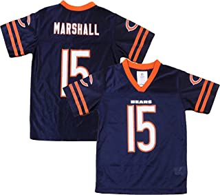 Outerstuff Brandon Marshall Chicago Bears Navy Blue Youth Home Player Jersey