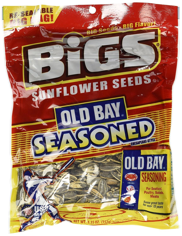BiGS Old Bay Seasoned price Finally popular brand Bag Seeds Sunflower 5.35oz