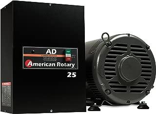 Rotary Phase Converter AD25 – 25 HP Digital Controls Heavy Duty HD CNC USA Made