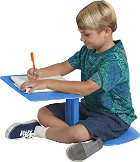 ECR4Kids The Surf Portable Lap Desk/Laptop Stand/Writing Table, Blue