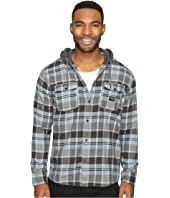 Quiksilver - Fellow Player Hooded Woven Button Up Flannel