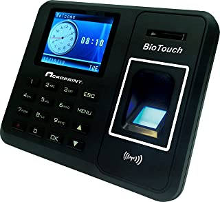 Acroprint Time Recorder Co. BioTouch Self-Contained Automatic Biometric Fingerprint/Proximity Time Clock