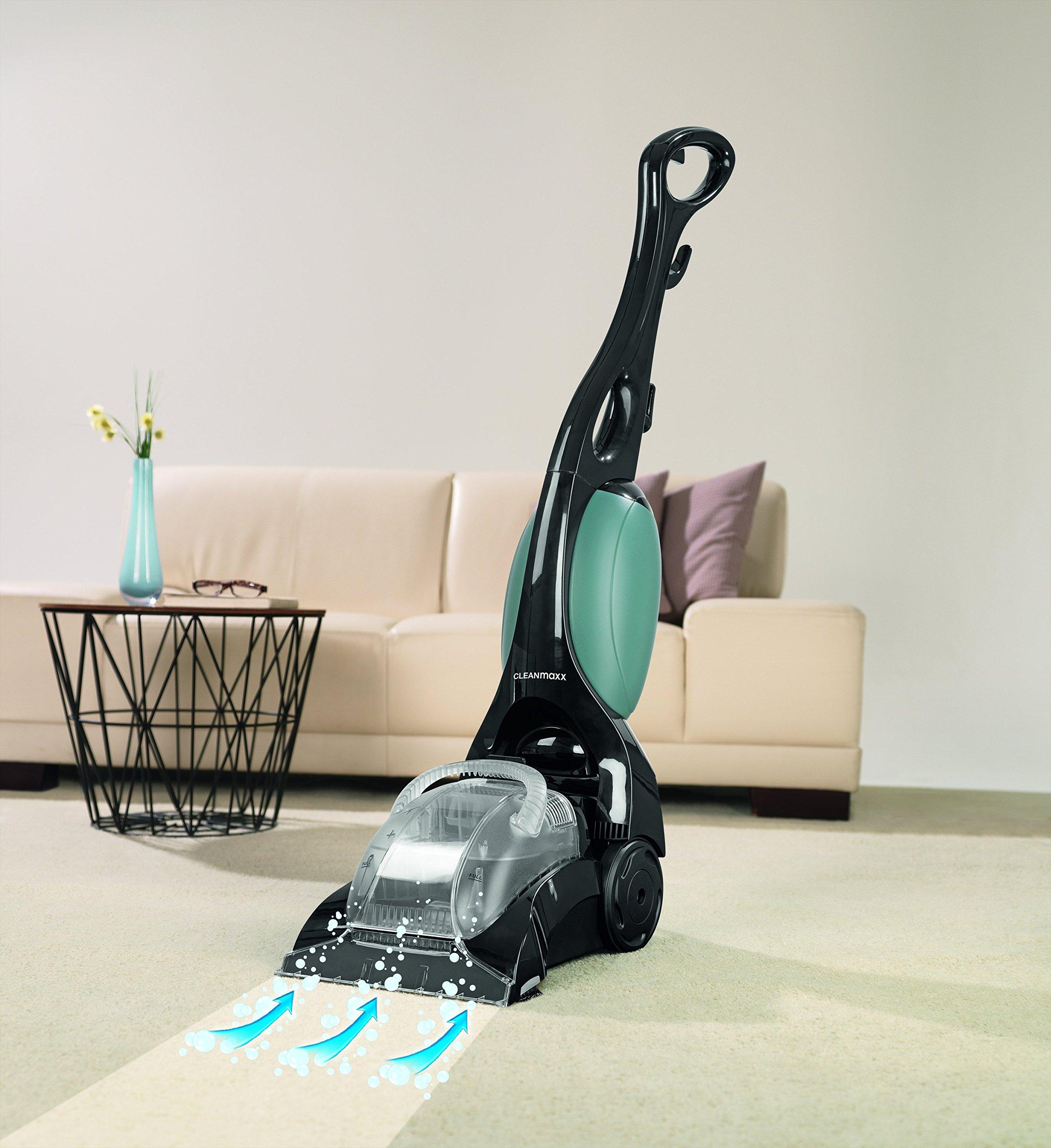 Cleanmaxx 09840 Alfombra limpiador Professional | 3 in1 Lavado, limpieza y aspirar | Max. 700 W | limpiador de suelos (Tecnología de H2O |, color verde: Amazon.es: Hogar