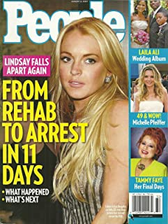 Lindsay Lohan, Tammy Faye Bakker Messner, Michelle Pfeiffer, Laila Ali, Obama Girl, Justin Timberlake - August 6, 2007 People Magazine