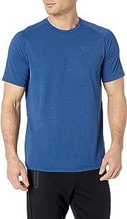 Amazon Brand - Peak Velocity Men's VXE Short Sleeve Quick-dry Loose-Fit T-Shirt