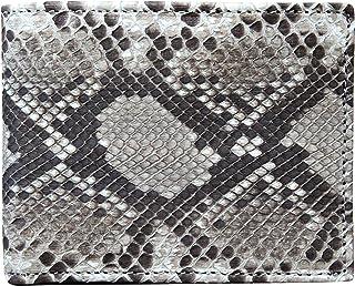 Portafoglio Uomo in Vero Pitone - Prodotto artigianale fatto nel cuore della Toscana - Vera Pelle - Rettile