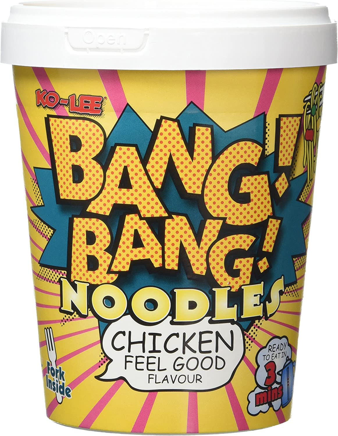 KOLEE Direct Fort Worth Mall store BangBang Noodles Chicken Feel Good 8 of g Flavour 65 Pack