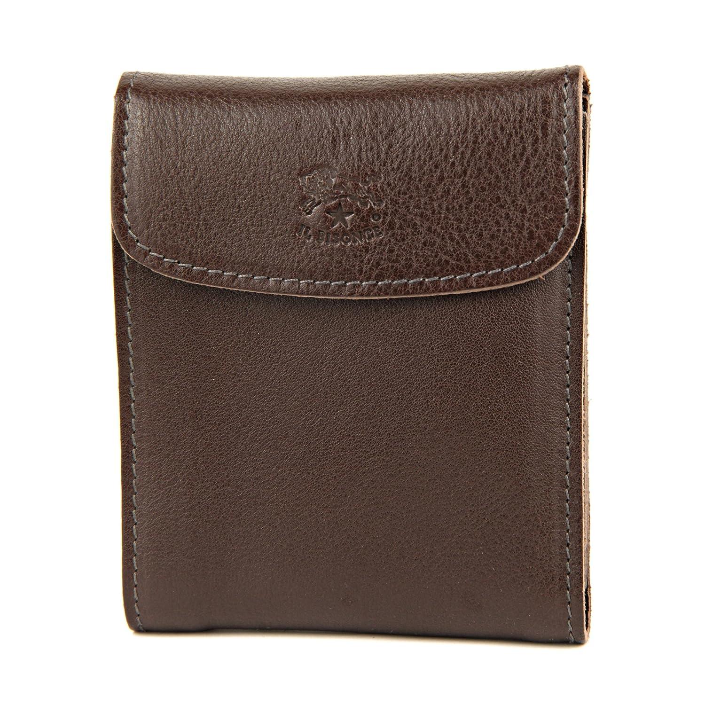 [イルビゾンテ] メンズ 二つ折り財布 IL BISONTE C0976 P 455 モカブラウン [並行輸入品]
