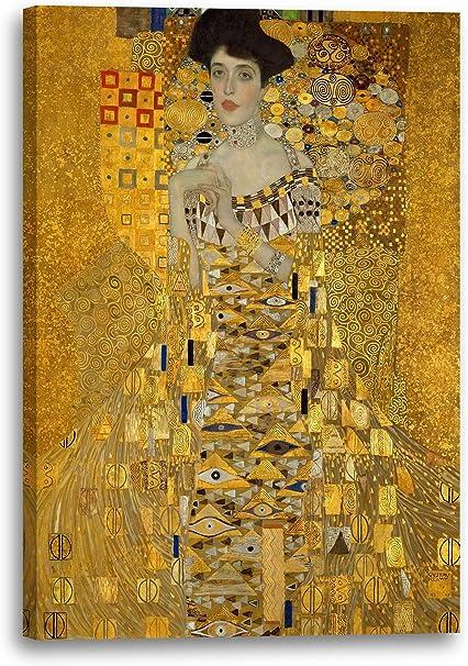 Ölgemälde 90x60cm Leinwand G101748 Gustav Klimt Portret Adele Bloch Bauer II
