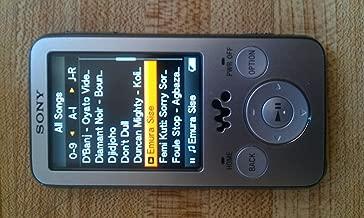 Sony 4 GB Walkman Video MP3 Player NWZ-E436F (Black)