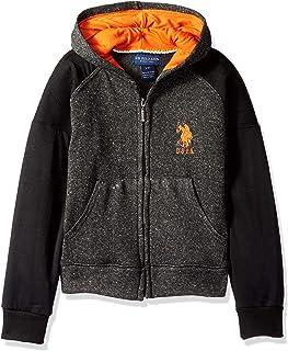 Boys' Hooded Zip or Snap Fleece Jacket