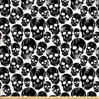 Best skull flannel fabric Reviews