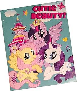 My Little Pony Portfolio Folder - 2 Pockets (Graphics/Colors Vary)