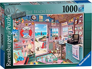 Ravensburger My Haven No.7 The Beach Hut 1000 Piece Jigsaw Puzzle for Adults & for Kids Age 12 and Up