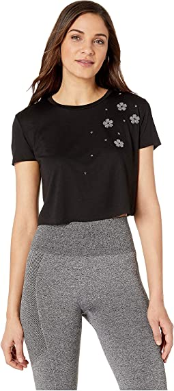 Swarovski® Starflower Crop Tee